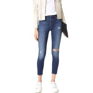 J Brand Alana in overtime distressed wash